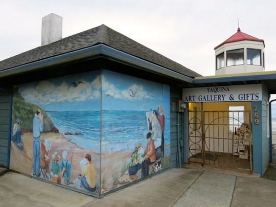 Art Gallery On The Beach