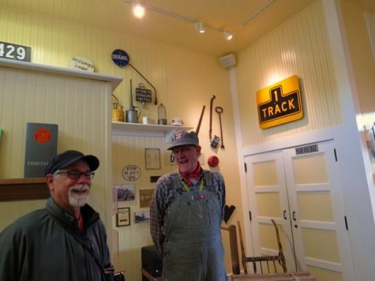 At The Tehachapi Railroad Museum