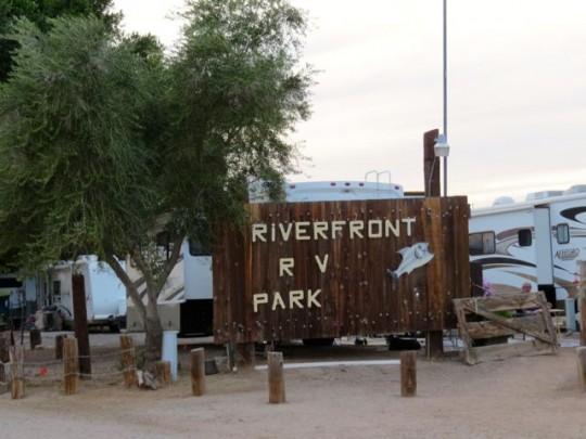 Riverfront RV Park In Yuma