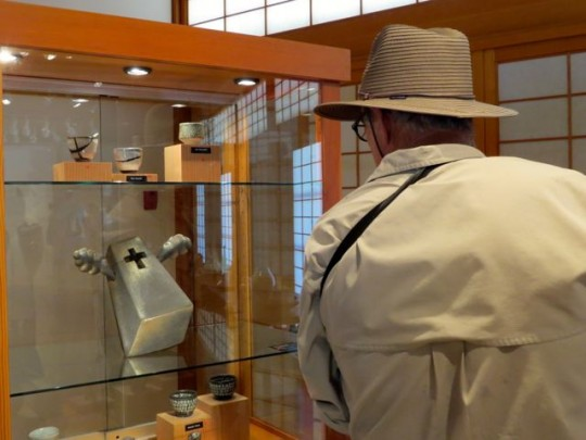 Ceramic Exhibit In The Japanese Garden