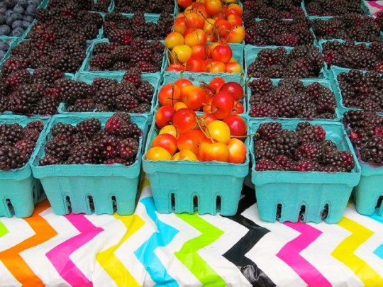 Summer Fruit At The Market