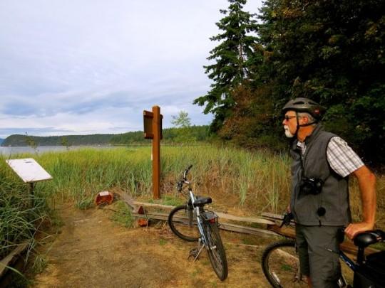 Peaceful Island Biking