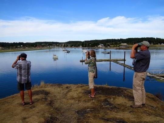 With Linda And Steve At Fisherman's Bay