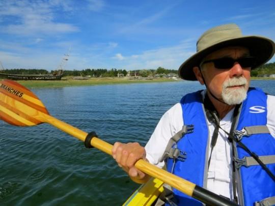 Kayking Fisherman's Bay
