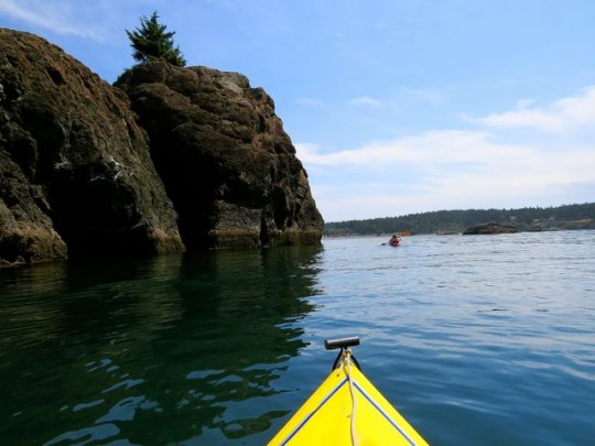 Kayaking To Agate Beach