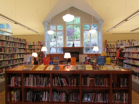 Inside The Cozy Library