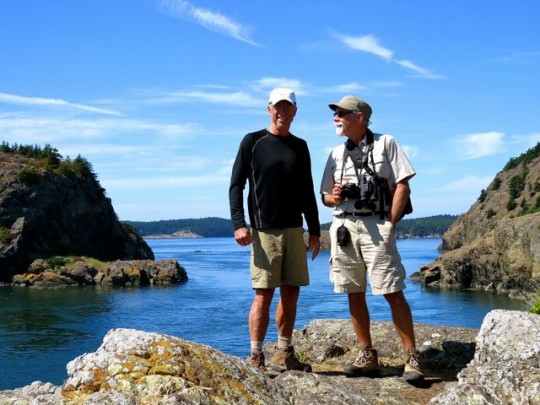 Terry And Eric At Point Coville