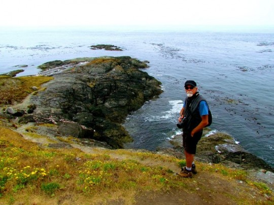 On The Trails At Iceberg Point