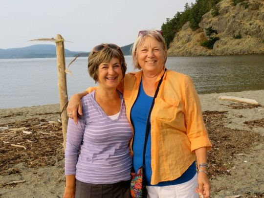 Enjoying The Beach With Diana