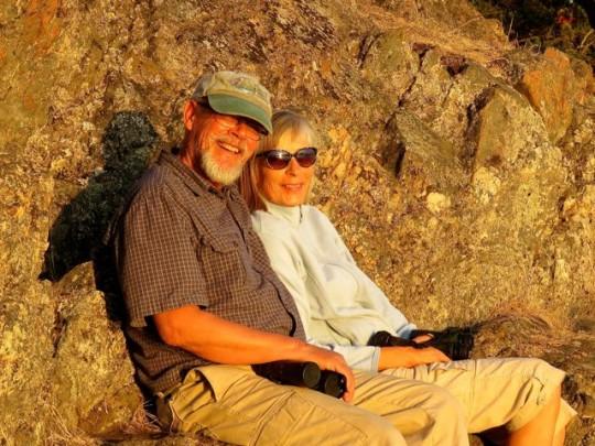 Steve & Linda At Shark Reef