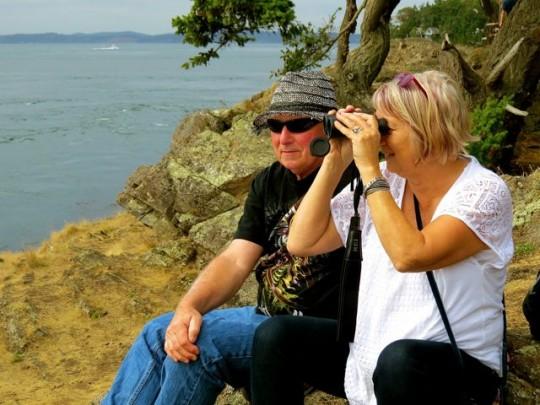 John And Diana At Shark Reef