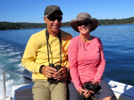 Whale Watching With Terry & LuAnn