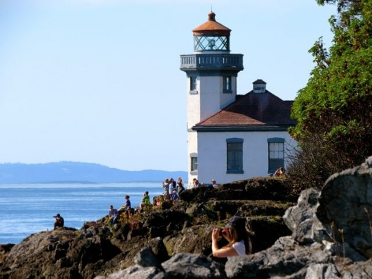 At Lime Kiln State Park