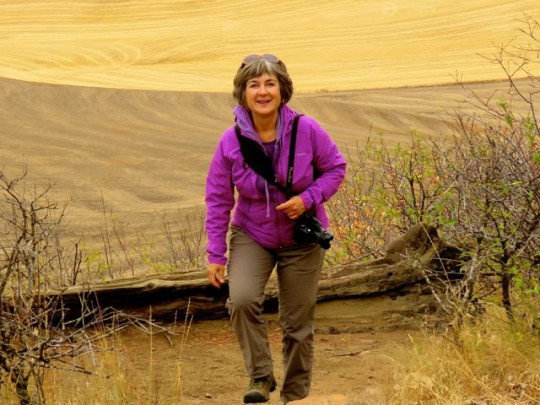 Hiking Up Kamiak Butte