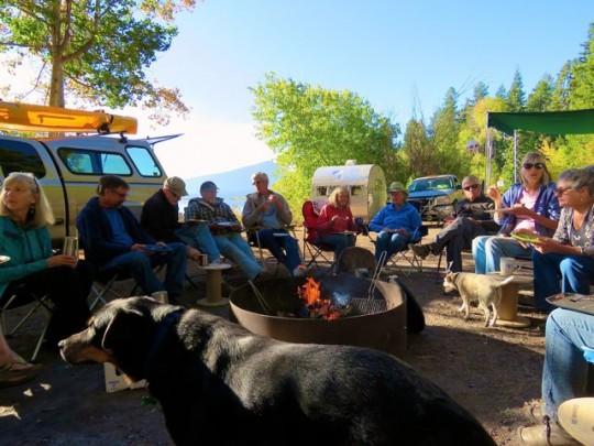 A Campfire Breakfast