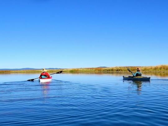 Kayaking In The Marsh