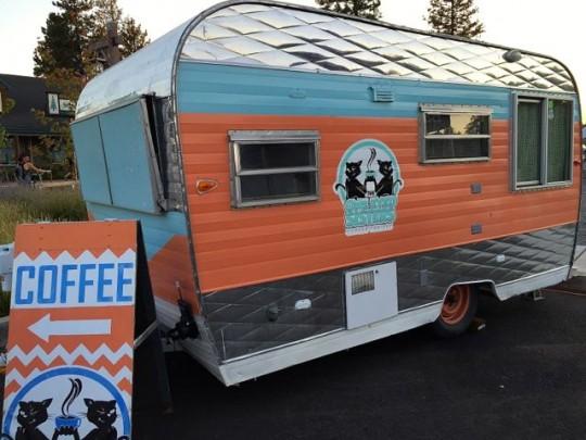 Cute Coffee Truck