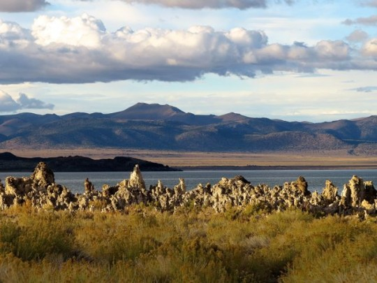 Tufa Formations On The West End Of Mono Lake