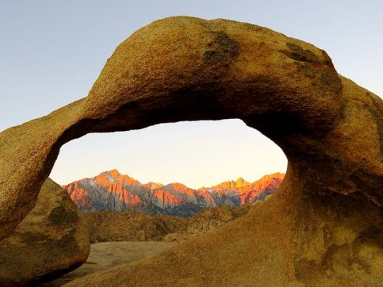 Mobius Arch At Daybreak