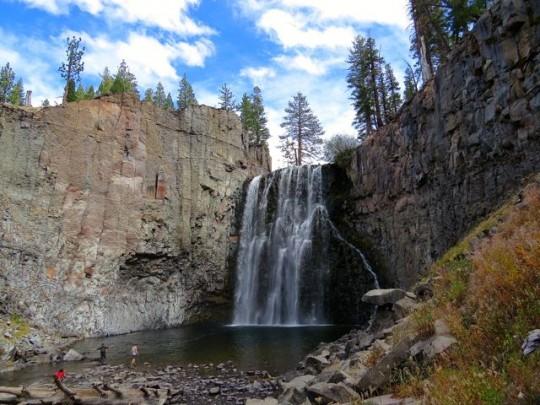 At Rainbow Falls