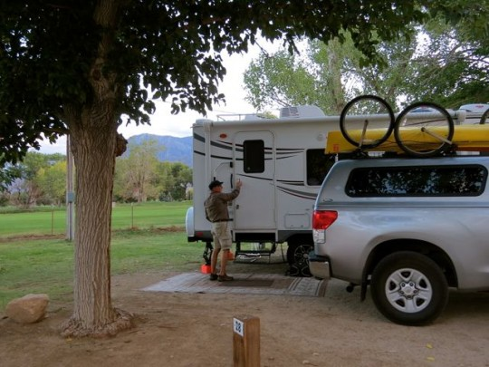 Campsite On The Golf Course