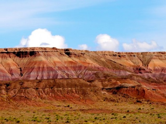 Stunning Colors Along Hwy 160