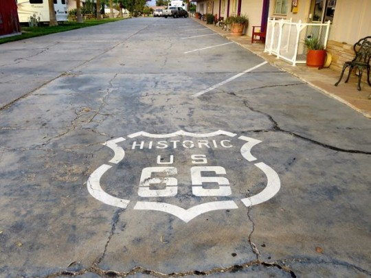 Yep, We're On Route 66