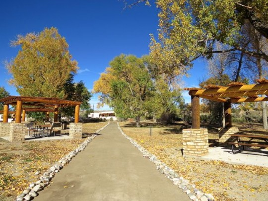 Path To The Visitor Center