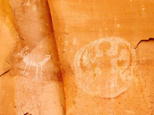Pictographs Of The Fire Clan