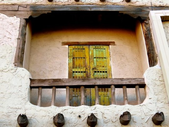 Old Adobe In Downtown Santa Fe