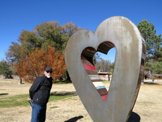 Big Love At Shidoni Sculpture Garden