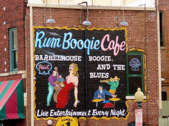 One Of Many Blues Cafes