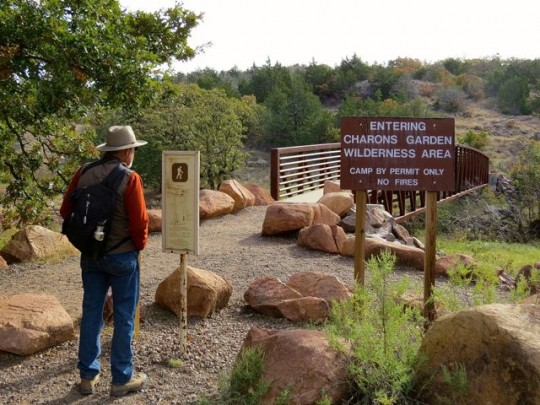 The Charons Garden Trailhead