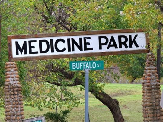 Medicine Park And Buffalo Street