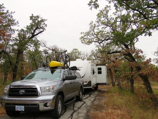 Doris Campground, Wichita Mountains Refuge