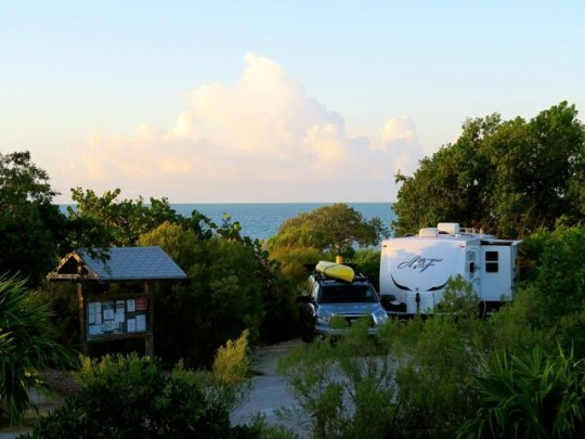 Our Perfect Site At Curry Hammock State Park