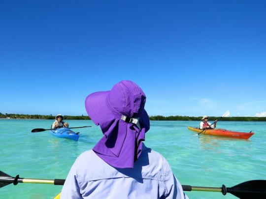 Kayaking With Sherry And David