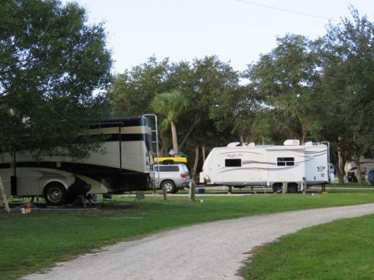 Convenient Overnight At Sabal Palm RV Park