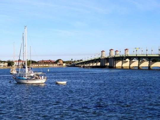 Bridge over the Intracoastal Waterway