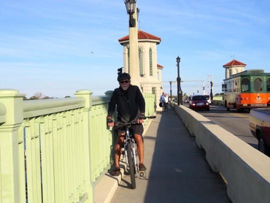 Biking to St. Augustine