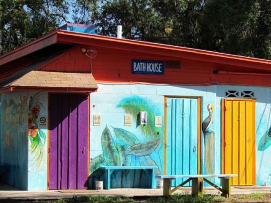 The Bathhouse At Sunset Isle