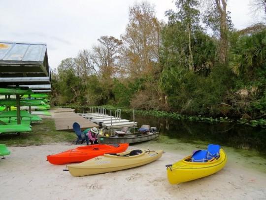 Kayak Launch On Wekiva Island