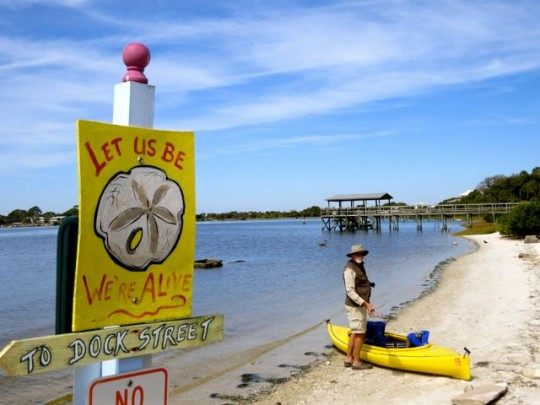 Kayak Launch Downtown