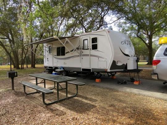 Excellent Campsites At Salt Springs Recreation Area