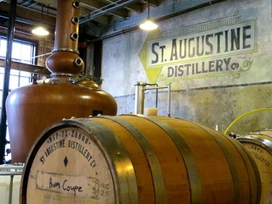 Copper Still in the Distillery