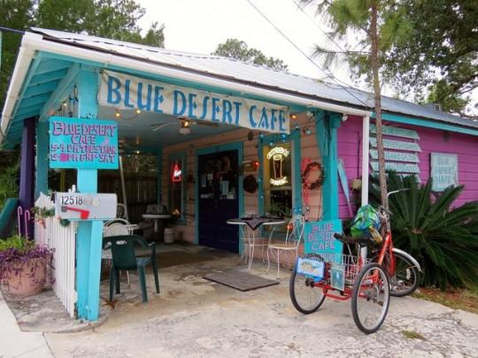 Colorful Cedar Key Cafe