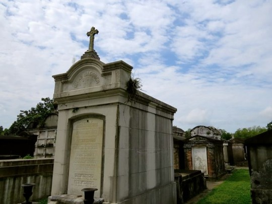 Many Elaborate Tombs From The 1800's