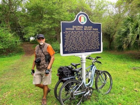 Biking And Birding Dauphin Island