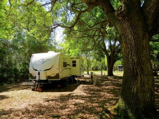 Nice Site At Dauphin Island Campground