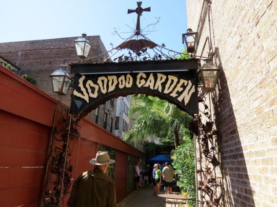 Entering The Voodoo Garden